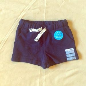 Carter's Adorable Navy Shorts with Drawstrings